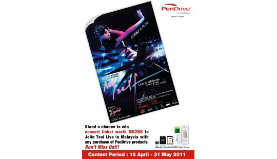 [CONTEST] Win ticket to Jolin Tsai's Concert 2011!!